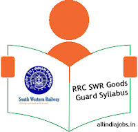 RRC SWR Goods Guard Syllabus