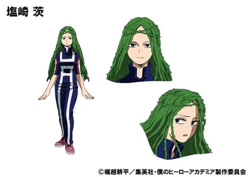 ชิโอซากิ อิบาระ (Shiozaki Ibara) @ My Hero Academia: Boku no Hero Academia มายฮีโร่ อคาเดเมีย