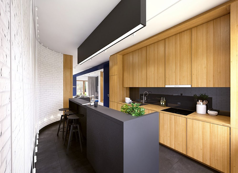 matte-black-kitchen-counter