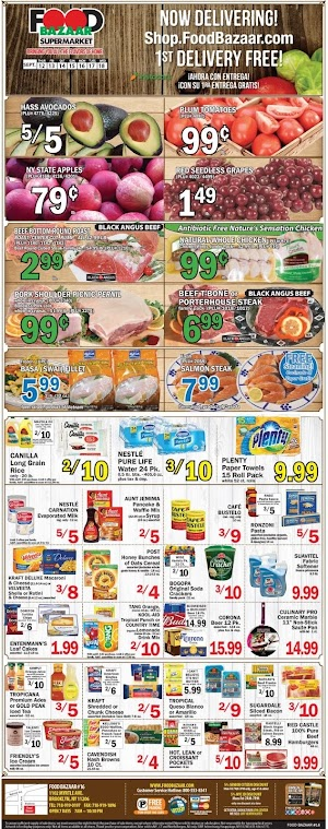 Food Bazaar Sales Circulars September 19 - 25, 2019