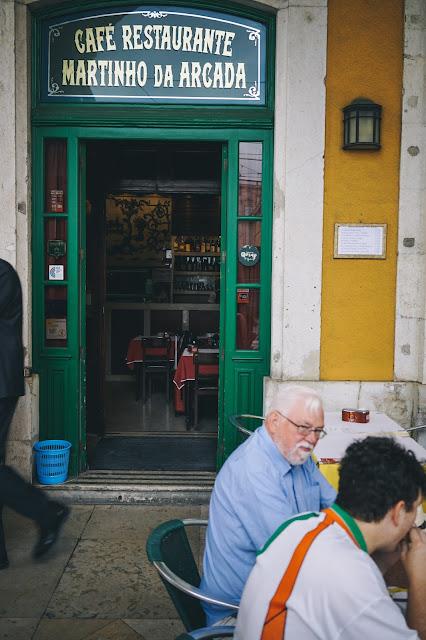 カフェ・マルティーニョ・ダ・アルカーダ(Cafe Martinho Da Arcada)