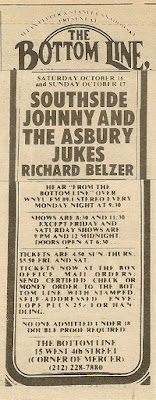 Southside Johnny & the Asbury Jukes At The Bottom Line