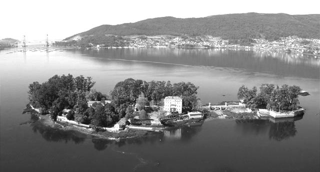 La isla de San Simón, Campo de Concentración franquista