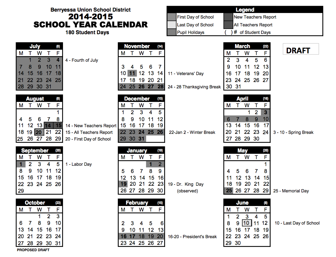 Mr. Amutan's HW and Info Blog: Tentative 2014-15 School