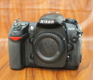 Jual Kamera DSLR Nikon D200 Bekas