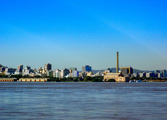 Passeio de barco pelo Guaíba - Porto Alegre - RS