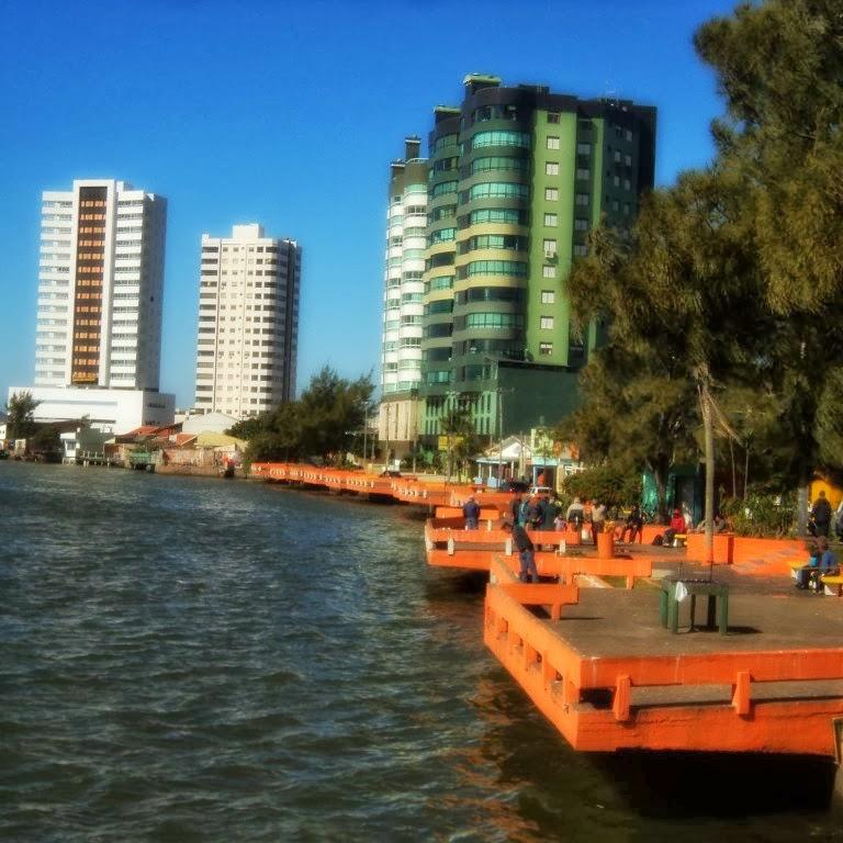 Parcão da Beira-Rio, em Tramandaí