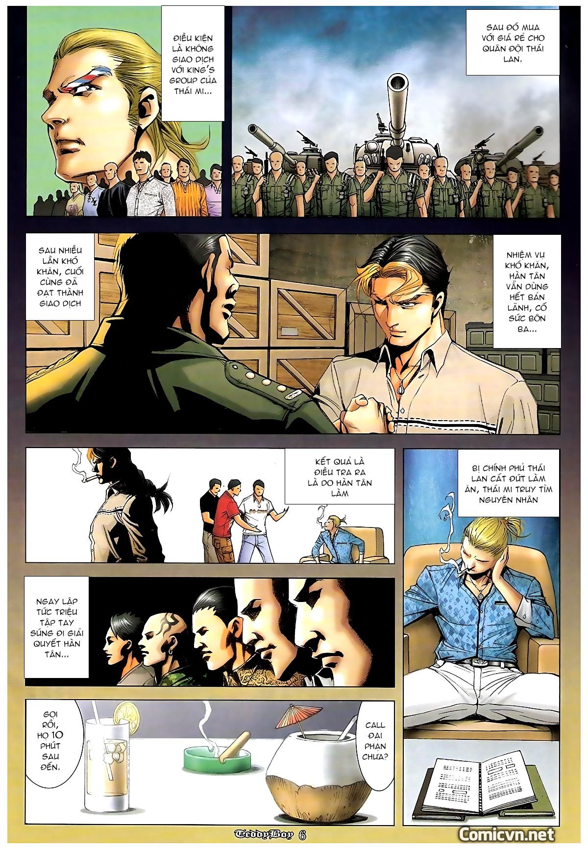Người Trong Giang Hồ - Chapter 1240: Hàn Tân trở về - Pic 5