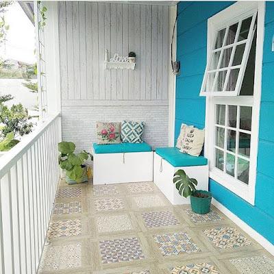 8 Motif Keramik Teras Depan Rumah Minimalis Terbaik