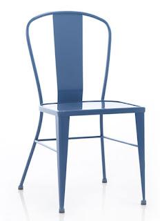 silla de forja para bares en colores