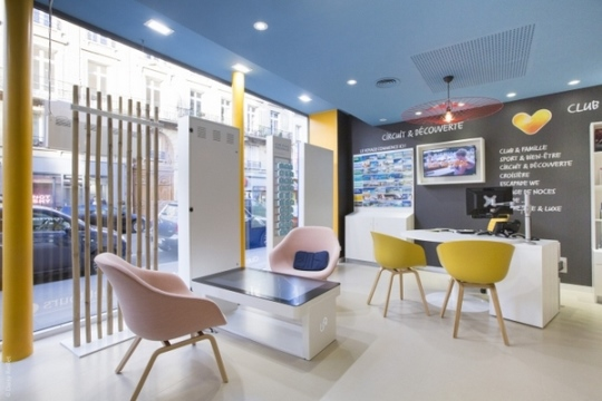 travel agency office design