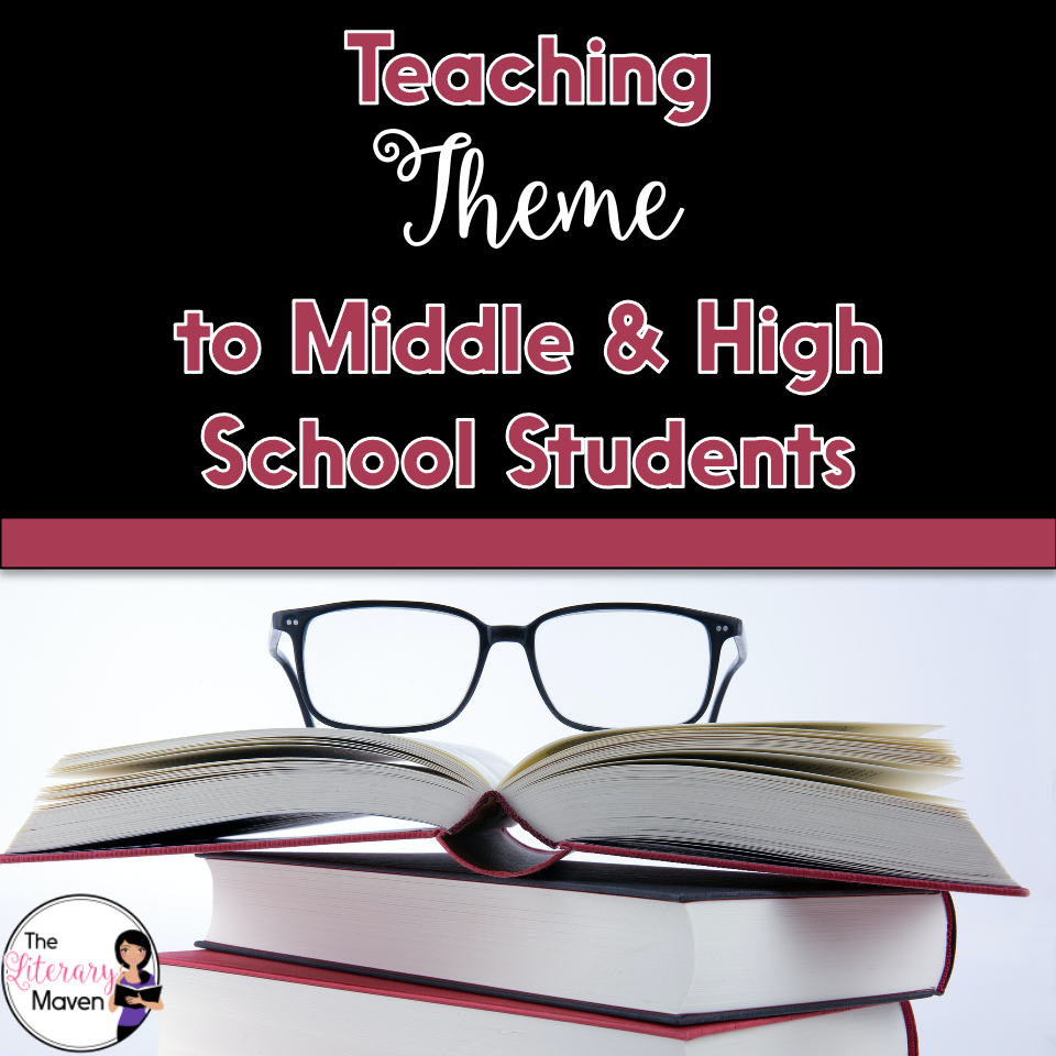 Use these ideas for teaching theme to middle and high school students with any short story, novel, or drama.