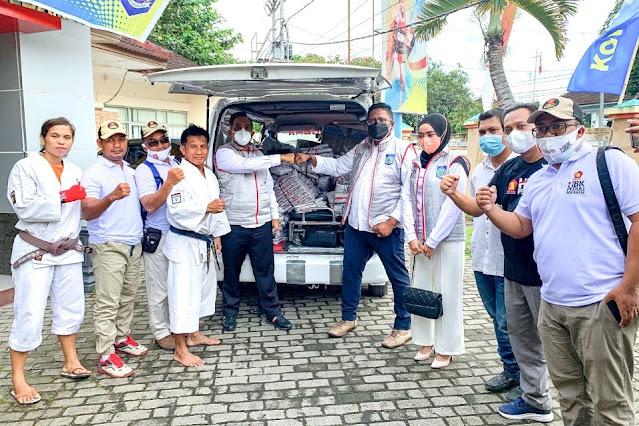 Dukung kontingen NTB di PON Papua, HBK bantu ratusan rompi ke atlet