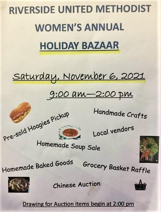 11-6 Riverside Church Women's Bazaar, Roulette, PA