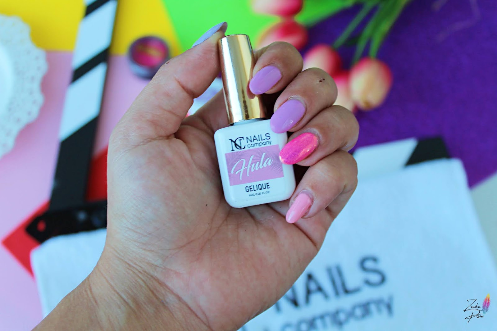 NC Nails Company Lakier hybrydowy HULA