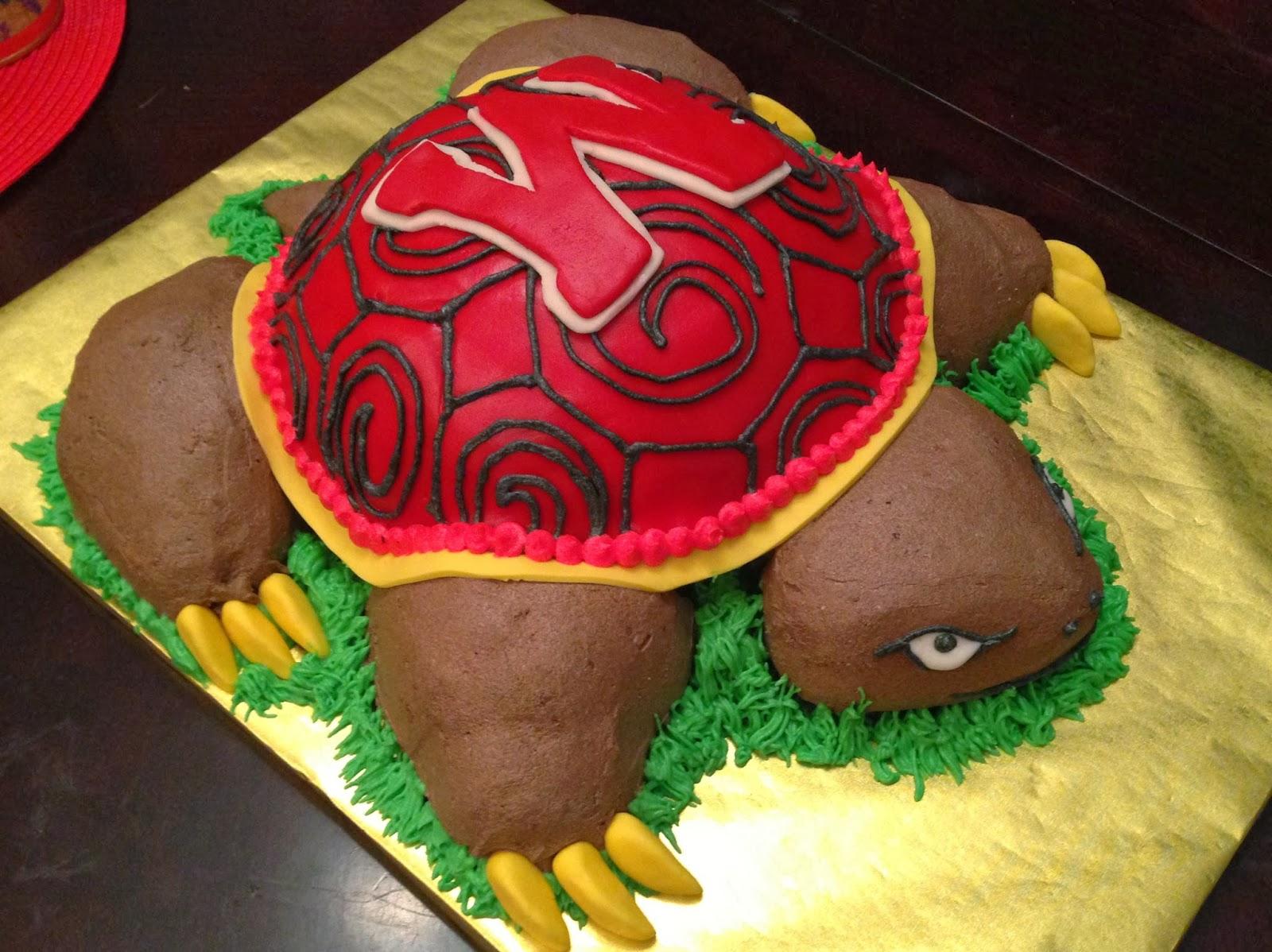 University Of Maryland Mascot >> Joyce Gourmet: University of Maryland's Mascot: The Testudo Cake