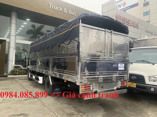Hyundai 110XL 7 tấn thùng inox