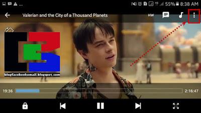 cara menampilkan subtitle saat film di putar di hp android