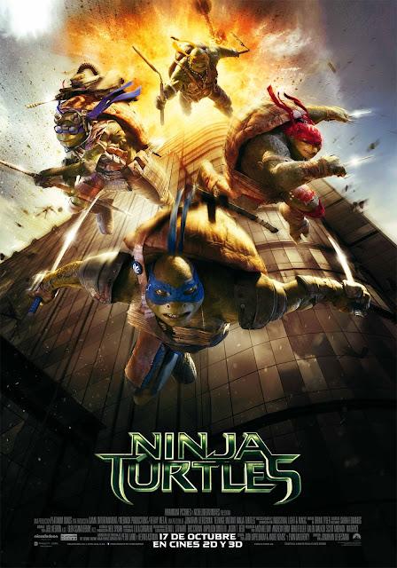 LAS TORTUGAS NINJA + LAS TORTUGAS NINJA: FUERA DE LAS SOMBRAS