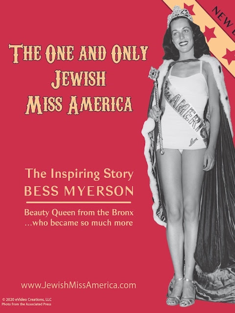 """The One and Only Jewish Miss America"" - The Inspiring Story of Bess Myerson"