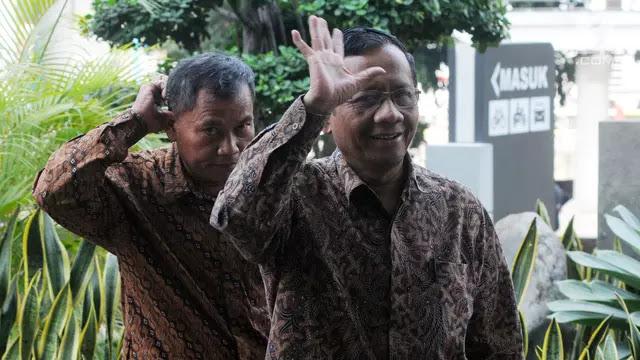 Jokowi atau Prabowo? Ini Jawaban Mahfud MD