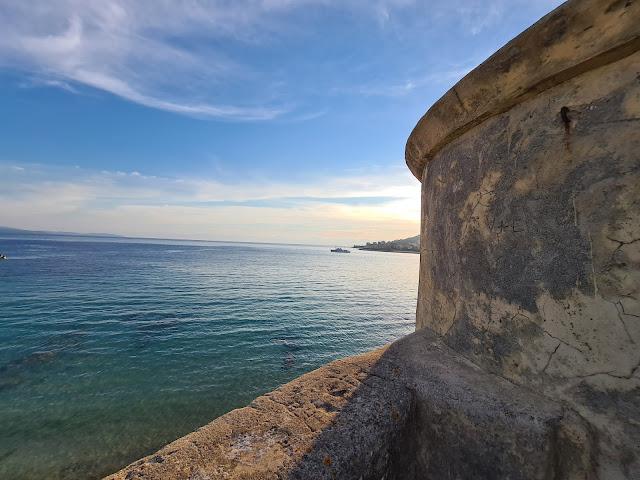 La citadelle d'Ajaccio