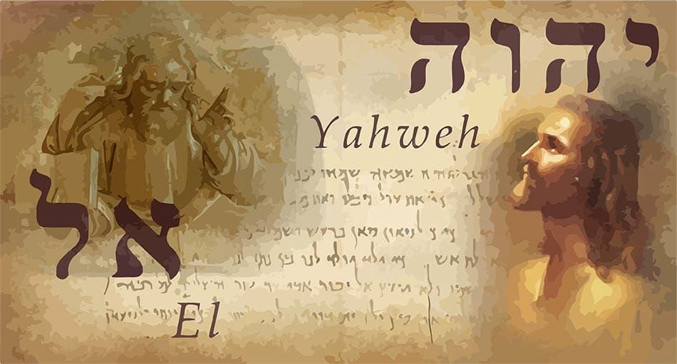 yahudilik, Musevi tanrısı, Yahweh, Yahweh'in kökeni, Musevi tanrısının kökeni, Rab, din, A, İsrail'in tanrısı, Tanrı El, Yhw, Tanrı Yhw, Yahudi tanrısı Yahweh, Tesniye, Levililer,