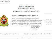 Jawatan Kosong di Majlis Daerah Sik