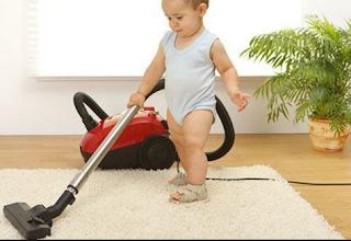 تنظيف البيت بدون تعب