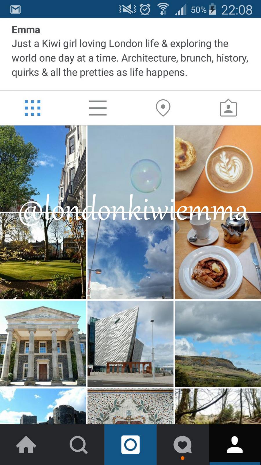 Instagram @londonkiwiemma Adventures of a London Kiwi