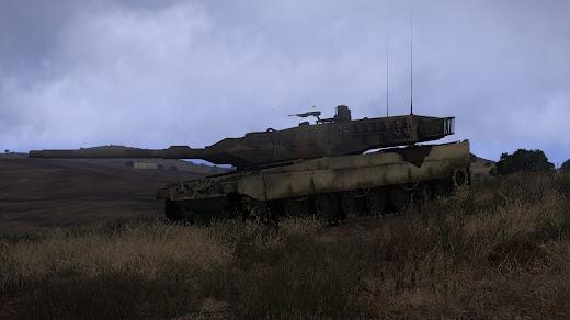 arma3 ドイツ連邦軍MODのレオパルド 2A6M