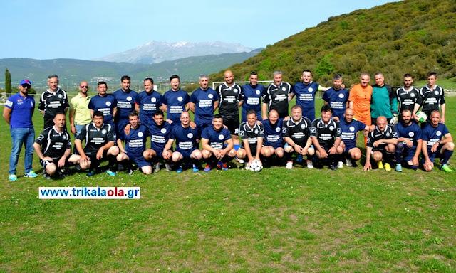 Χάρηκαν το ποδόσφαιρο οι ΕΚΑΒίτες Ιωαννίνων, Τρικάλων και Καρδίτσας