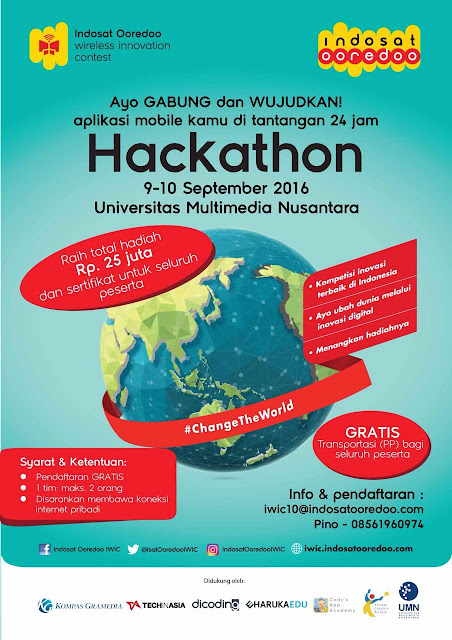 Hackathon Indosat Ooredoo 2016