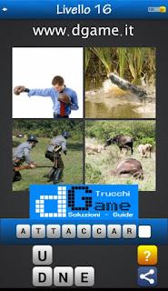 PACCHETTO 4 Soluzioni Trova la Parola - Foto Quiz soluzione livello 16