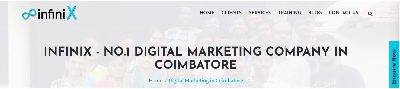 Infinix - Digital Marketing Company