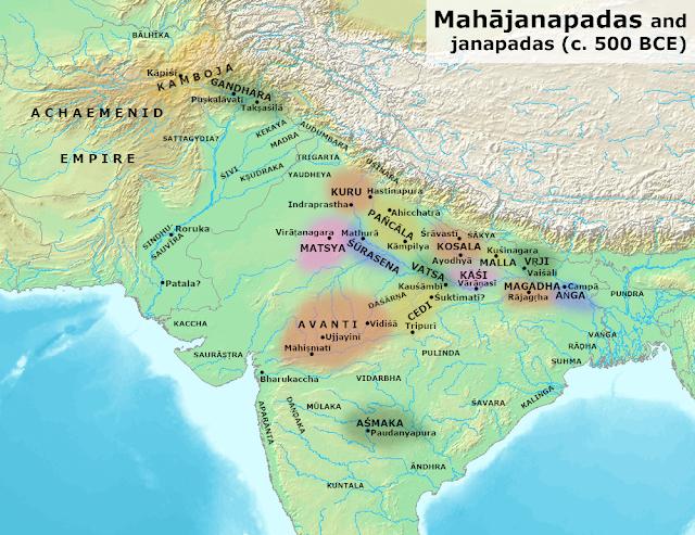 Ang Mahajanpada in 16 Mahajanpada Era