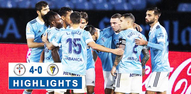 Celta de Vigo vs Cádiz – Highlights