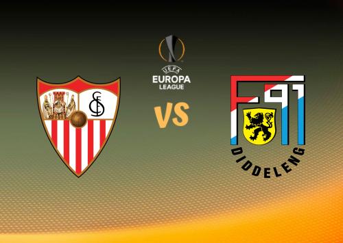 Sevilla vs F91 Dudelange  Resumen
