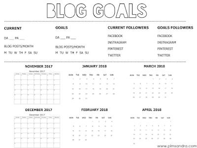 Blog Posts Challenge - Download printable FREE!