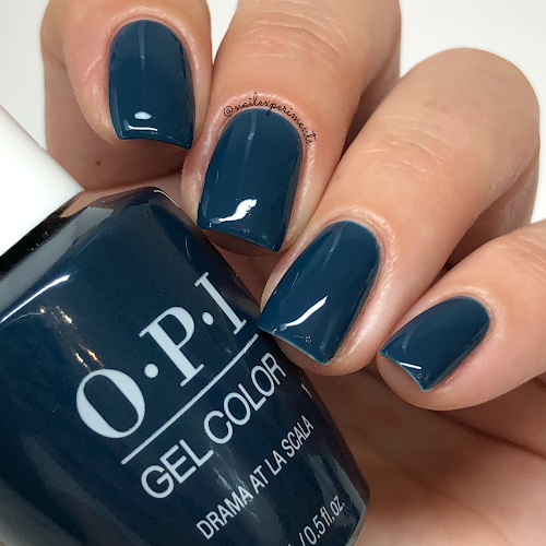 opi drama at la scala gel color muse of milan fall 2020