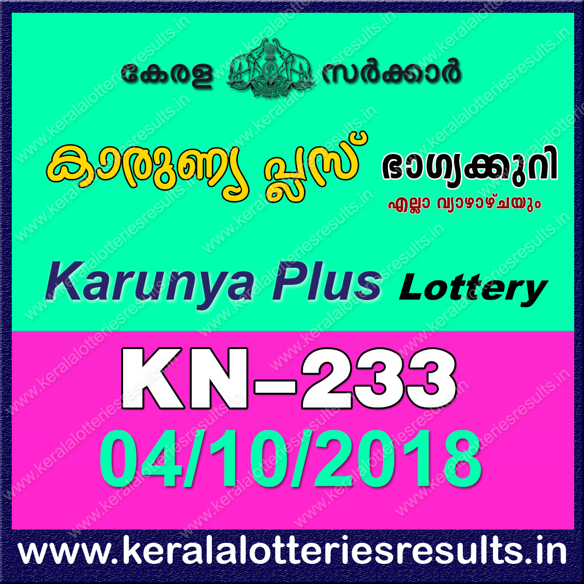 Complot online lottery result
