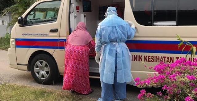 Ibu Positif Covid-19 Dijemput Ambulans, Benda Pertama yang Dipikirkan Al-Qur'an