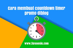 Cara membuat countdown timer promo diblog