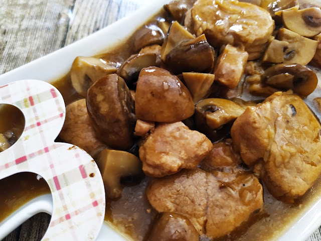 Solomillo en salsa con champiñones - Happy Chef Aigostar