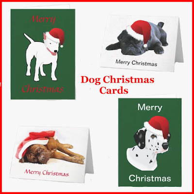 White Dog Art 5 Doggy Notecards....Holiday or Whenever