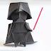 Aprende a hacer un Darth Vader de Origami y serás la envidia de todos