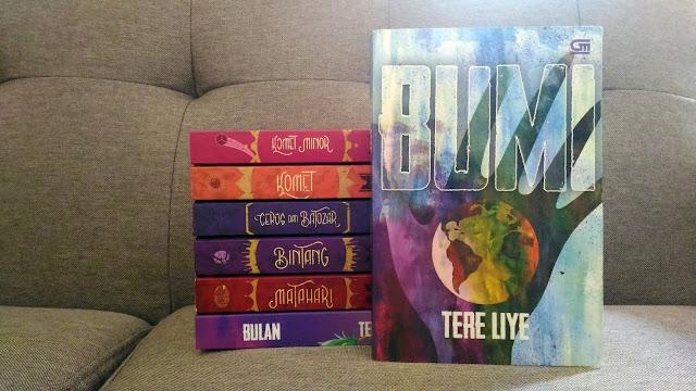 Novel BUMI dari Serial BUMI oleh Tere Liye