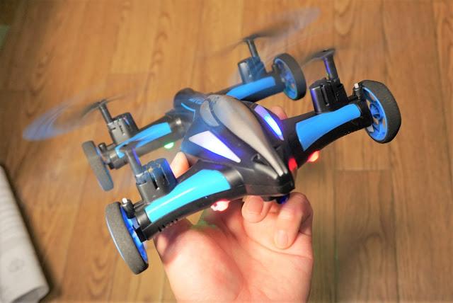 【JJRC H23】わずか4000円で、地上走行も飛行もOKなドローン。JJRC H23ファーストインプレッション