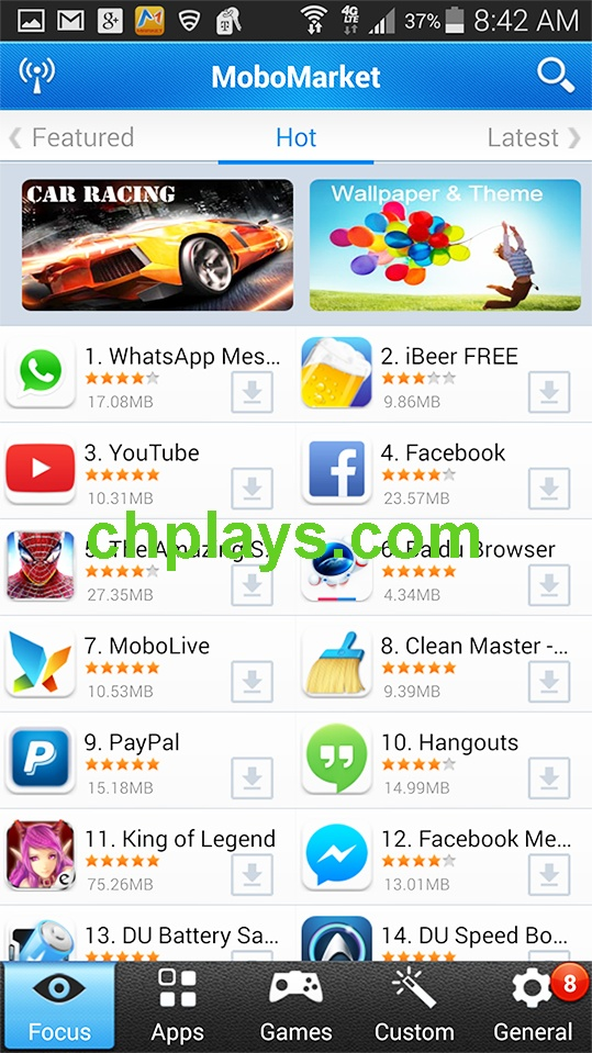 Download Mobo Market APk cho điện thoại Android miễn phí e