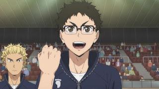 ハイキュー!! アニメ 3期1話   武田一鉄 Takeda Ittetsu   Karasuno vs Shiratorizawa   HAIKYU!! Season3